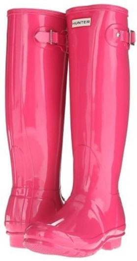 dd72e42c8f847 Hunter Original Tall Gloss Bright Cerise Pink Fuchsia Wellingtons