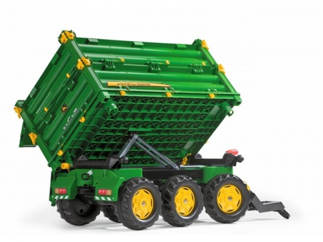 John Deere with Silage Trailer