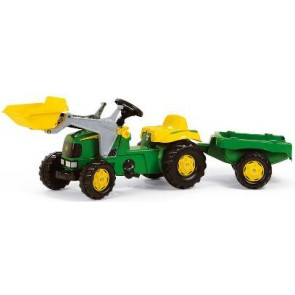 Rolly John Deere Tractor loader and trailer