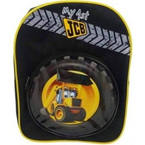 My First JCB School Bag Backpack Schoolbag
