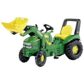 Rolly John Deere X Trac XTrac Ride On Pedal Tractor with loader