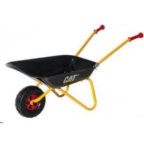 Rolly Cat Caterpillar Black Metal Wheelbarrow