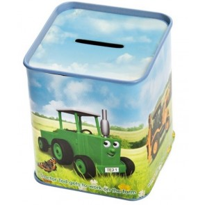 Tractor Ted Money Tin