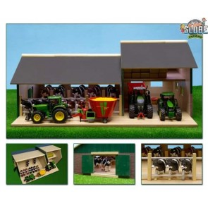Globe Wooden Cattle Machinery Shed