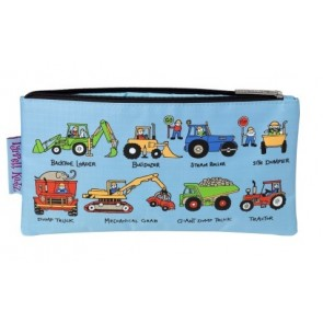 Working Wheels Pencil Case