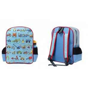 Kids Working Wheels Backpack Schoolbag